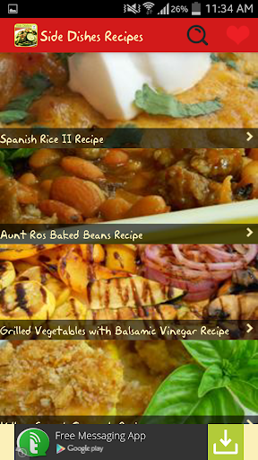 Side Dishes Recipes