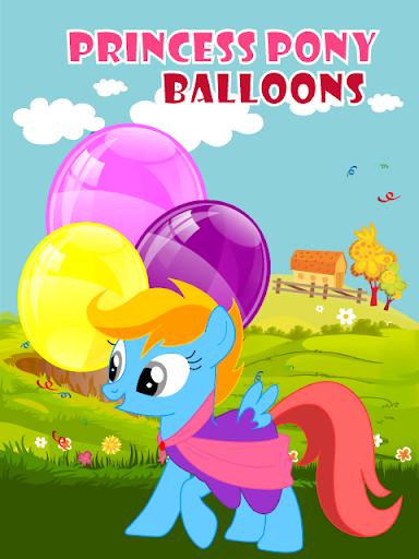 Princess Pony Balloons for Kid