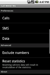 Call Meter NG - screenshot thumbnail