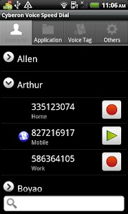 Voice Speed Dial- screenshot thumbnail
