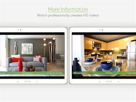 Screenshot of Apartments.com Rental Search