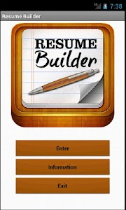 Resume Builder Pro - HD screenshot 0