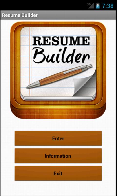 resume builder pro hd screenshot