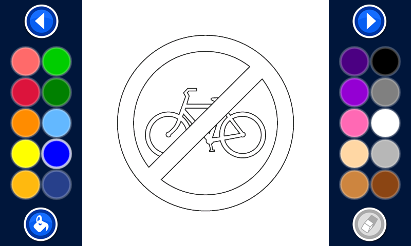 road signs coloring pages free Android Apps on Google Play