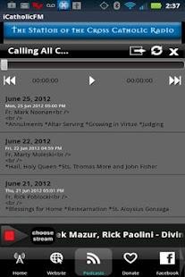 iCatholicRadio - screenshot thumbnail