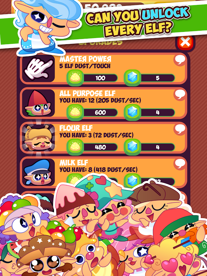 Elf Cake Clicker- screenshot
