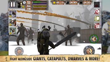 Screenshot of Heroes and Castles