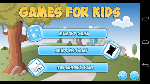 Game for Children 3-5 years