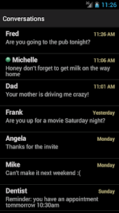chomp SMS theme add-on - screenshot thumbnail