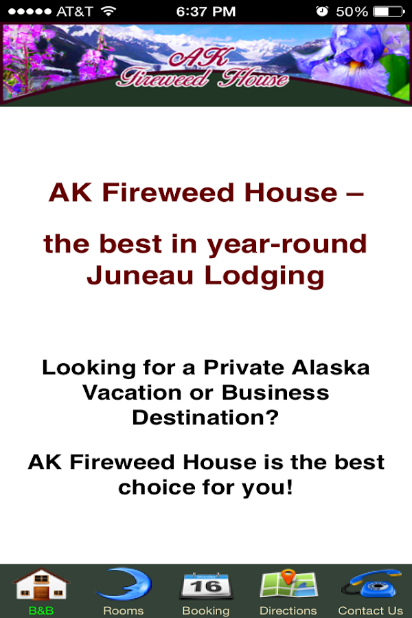 Alaska B&B- screenshot