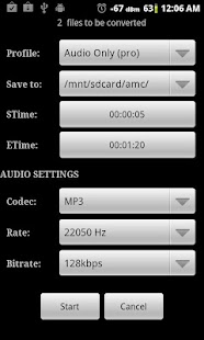 Video Converter Android- screenshot thumbnail