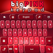 Keypad Big Pink Keys