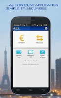 Screenshot of LCL Mes Comptes pour mobile