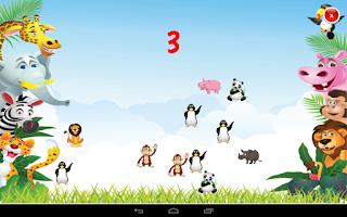 Screenshot of Safari 123 counting game