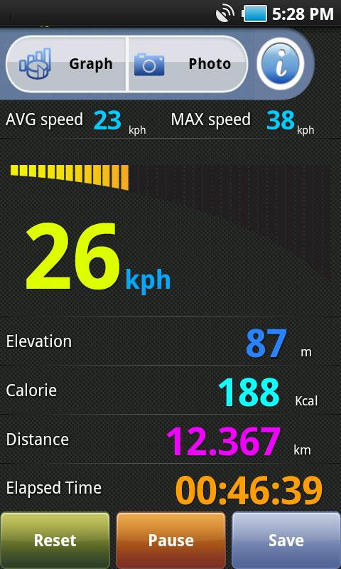 BikeMate GPS- screenshot