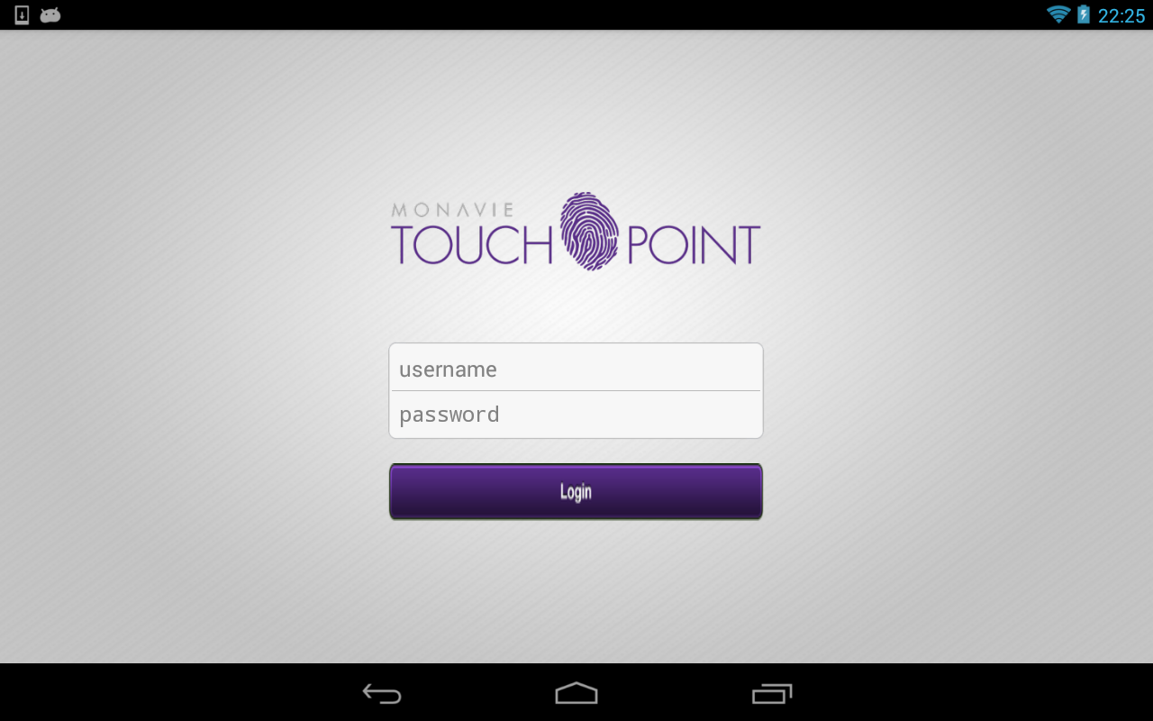 MonaVie TouchPoint- screenshot