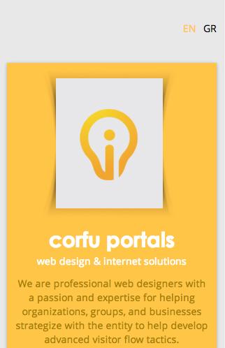 Corfu Portals Web Design