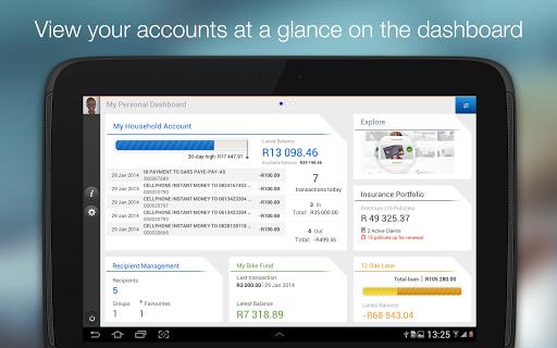 Standard Bank for Tablet