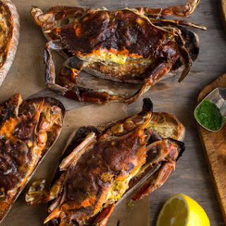 Soft-Shell Crab Toasts