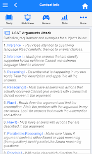 LSAT Flashcards - screenshot thumbnail