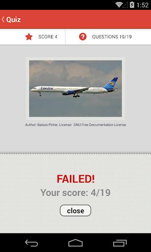 玩免費益智APP 下載Airplane Quiz app不用錢 硬是要APP