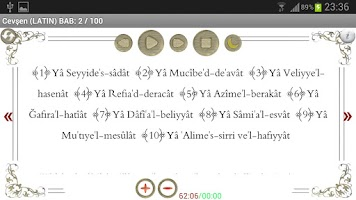 Screenshot of Cevşen 'ül Kebir (sesli) Islam