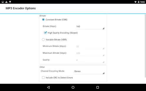 Switch Audio Converter Free – Miniaturansicht des Screenshots