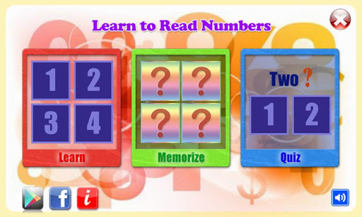 Learn to Read Numbers