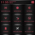 CM10.1 Theme Red Fire Theme