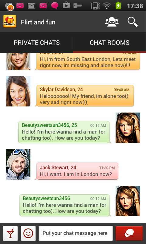 BeNaughty - Very flirty dating - screenshot