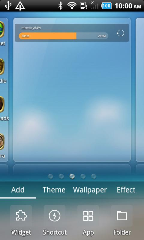 Green planet_Turbo  EX Theme - screenshot