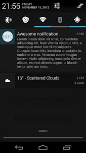 GDG Widgets and Notifications - screenshot thumbnail