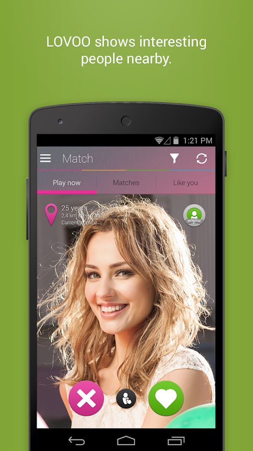 LOVOO Chat, Flirt, Real People - screenshot
