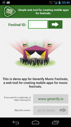 Generify Music Festivals