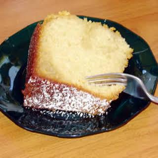 Susan's Butter Cake.