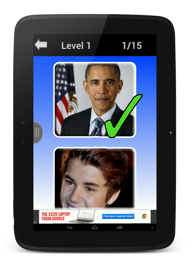 Famous Faces - Celebrity Quiz- screenshot