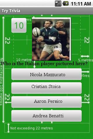 Ultimate Rugby Trivia