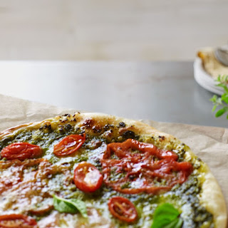 Pesto Margherita Pizza