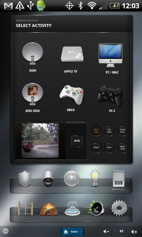 R2 Control for Crestron - screenshot