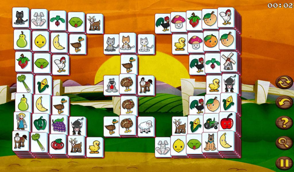 Barnyard Mahjong HD Free - screenshot