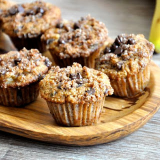 Banana Chocolate Chip Mini Muffins.
