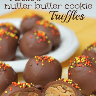 Reese's Nutter Butter Cookie Truffles.