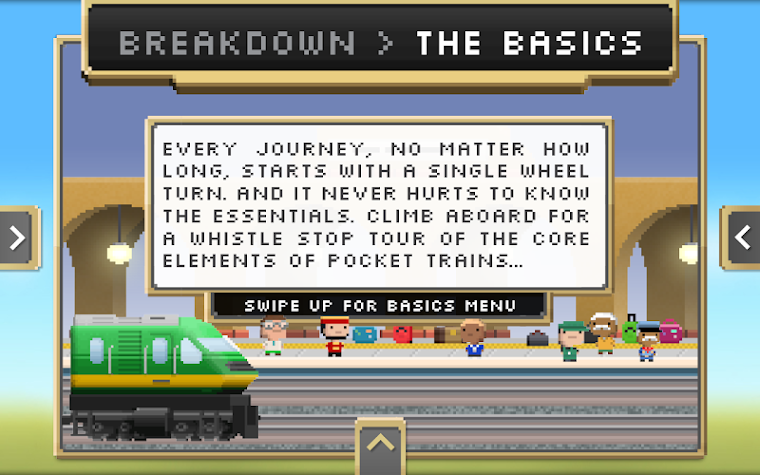 Pocket Trains Official Guide Screenshot
