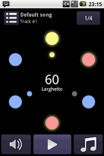 Perfect metronome Lite- screenshot thumbnail