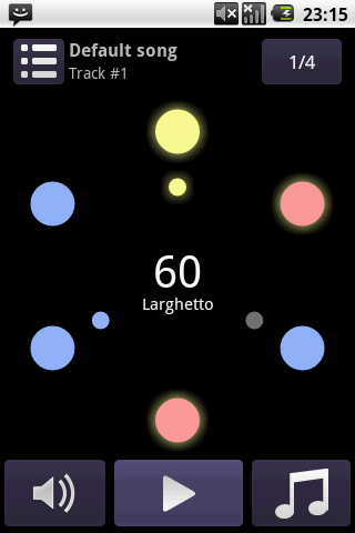 Perfect metronome Lite- screenshot