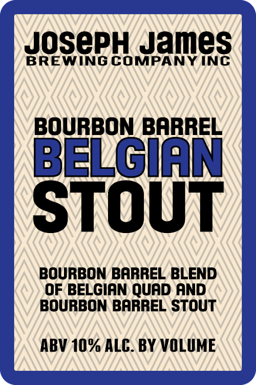 Logo of Joseph James Belgian Bourbon Barrel Stout