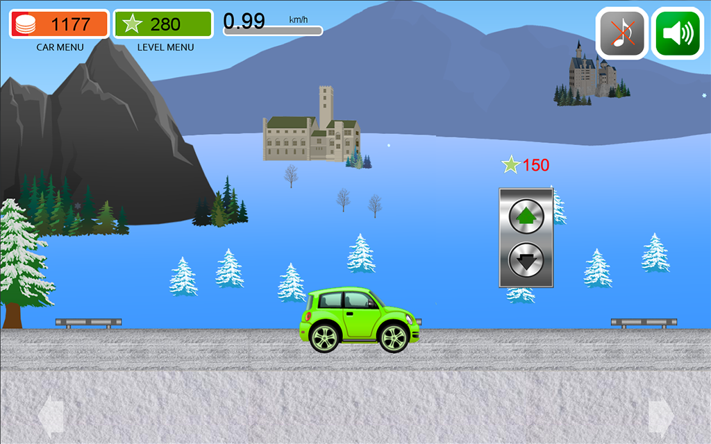 Car's travel 2 games for baby- screenshot