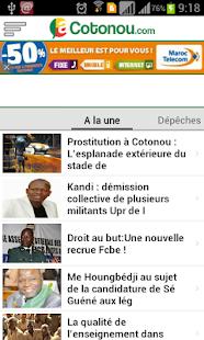 aCotonou.com- screenshot thumbnail