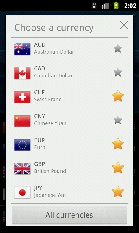 Easy Currency Converter- screenshot