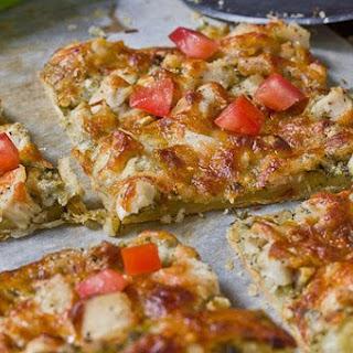 Pesto Chicken Tart.